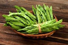 Green fresh beans Royalty Free Stock Photo