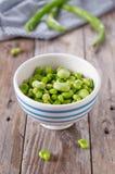 Green fresh beans Stock Image