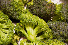 Green fresh broccoli Stock Photo