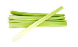 Green fresh celery. Stick isolated on white.  Royalty Free Stock Photo