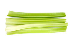 Green fresh celery. Stick isolated on white. Green fresh celery. Stick isolated on white Stock Image