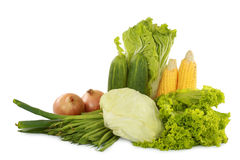 Green fresh healthy vegetables Stock Photo