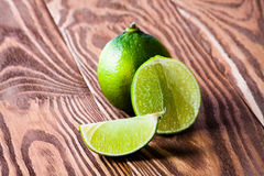 Green fresh lime Stock Photography