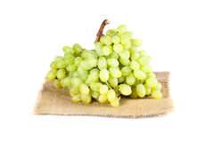 Green fresh ripe grapes Stock Photo