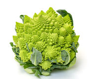 Green Fresh Romanesque Cauliflower Stock Photos