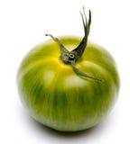 Green fresh tomato stock image