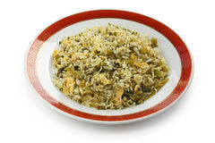 Green fried rice Stock Photography