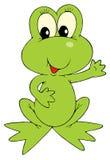 Green Frog (vector Clip-art) Stock Photography