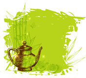 Green fruit tea Stock Image