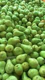 Green fruits stock photos