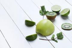 Green fruits Stock Photos