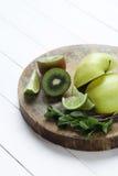 Green fruits Royalty Free Stock Photos