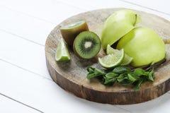 Green fruits Stock Photo