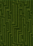 Green funky vintage fabric Stock Photo