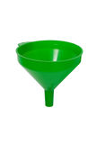 Green funnel Stock Image