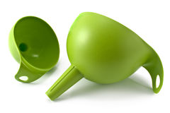 Green funnel Stock Photography