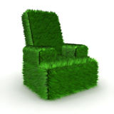Green furniture recycle and environmental concept Royalty Free Stock Image