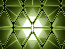 Green futuristic background Royalty Free Stock Images