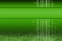 Green futuristic design with room for content. Green futuristic digital design with room for title or content Stock Photography