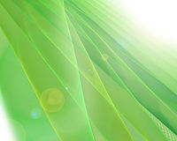 Green futuristic fractal background Royalty Free Stock Photo