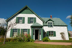 Green gables royalty free stock image