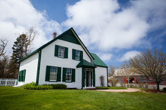 Green Gables House Royalty Free Stock Images