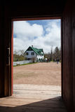 Green Gables House Stock Photos