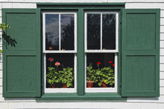 Green Gables Window Stock Images