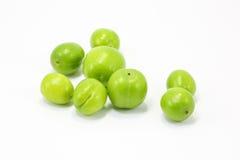 Green gage greengage fruit Stock Image