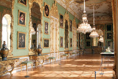Green Gallery at Munich residence royalty free stock images