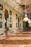 Green Gallery at Munich residence royalty free stock photo
