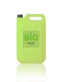 Green Gallon of bio fuel Royalty Free Stock Photos