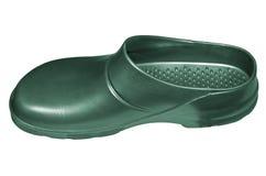 Green galosh Stock Image