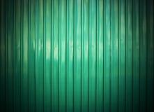 Green galvanized iron wall background Stock Photos