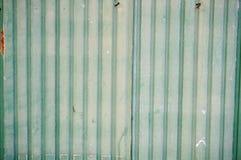 Green galvanized sheet Stock Photo