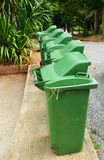 Green garbage Royalty Free Stock Photography