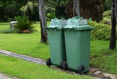 Green garbage Royalty Free Stock Images