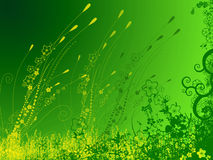 Green garden background. Illustration of green garden background Stock Photo