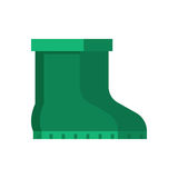 Green Garden Boots Stock Images