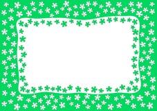 Green Garden Border Frame Royalty Free Stock Photo