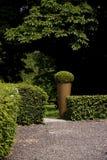 Green garden in Holland. A photo of a green garden stock image