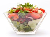 Green garden salad Stock Photography