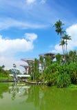 Green garden in Singapore Stock Photo