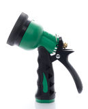 Green Garden sprayer gun Royalty Free Stock Images