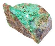 Free Green Garnierite Stone Nickel Ore Isolated Stock Images - 86189484