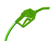 Green gasoline fuel Stock Photos