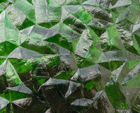 Green Gass 3D. Great abstract image of wonder or of depth Royalty Free Stock Images