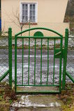 Green gate Stock Photography