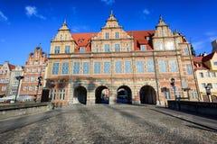 The Green Gate, Gdansk, Poland Stock Photos