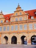 Green Gate in Gdansk, Poland Stock Image